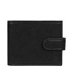 Bear Hardwear - Black 'Daan' leather bi-fold wallet