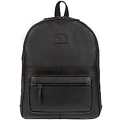 Bear Hardwear - Black 'Willow' leather backpack