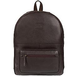 Bear Hardwear - Dark brown 'Willow' leather backpack