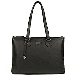 Cultured London - Black 'Ivy' leather large bag