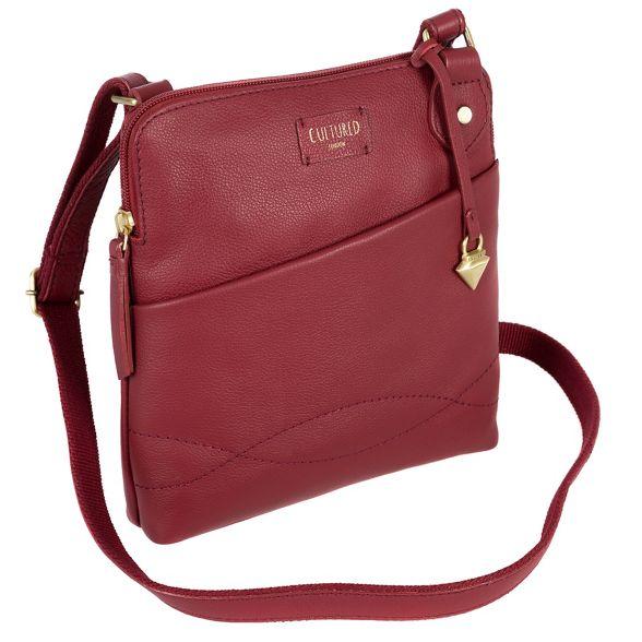 cross Ruby bag red body Cultured 'Jayne' London slim AX884q