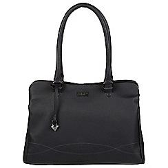 Cultured London - Navy 'Kadie' leather handbag