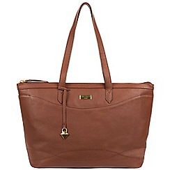 Cultured London - Brown 'Oriel' soft leather hand bag
