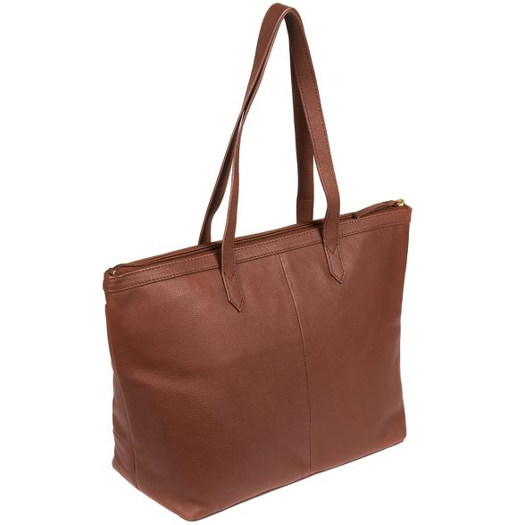 leather tote Sienna 'Oriel' bag Cultured Brown London wxapXp1q