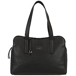 Cultured London - Black 'Lorin' soft leather handbag