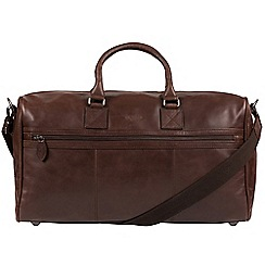Cultured London - Dark Brown 'Expedition' soft leather holdall