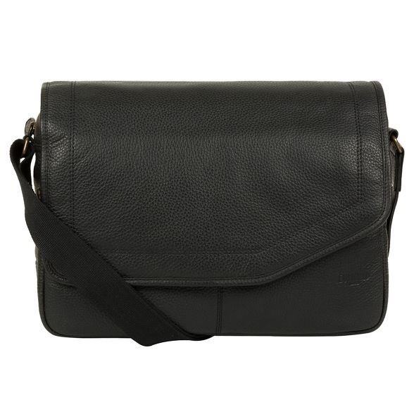 natural 'Reaction' bag London Black messenger leather Cultured xApRwqa