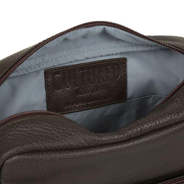 despatch buffalo leather Cultured bag London Dark 'Scene' brown xqOxgvwY