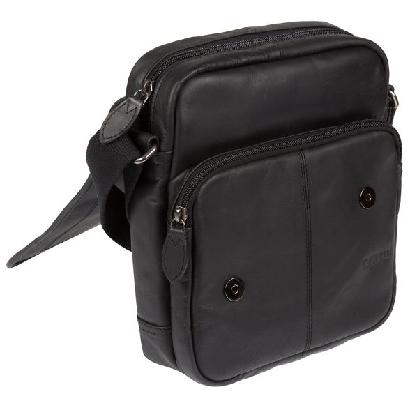 London 'Trip' bag small Black leather Cultured despatch Hwq0dfxf1