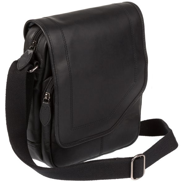 bag Cultured despatch leather 'Trip' London small Black x6Pxz