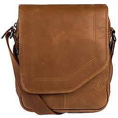 Cultured London - Chestnut 'Trip' buffalo leather despatch bag