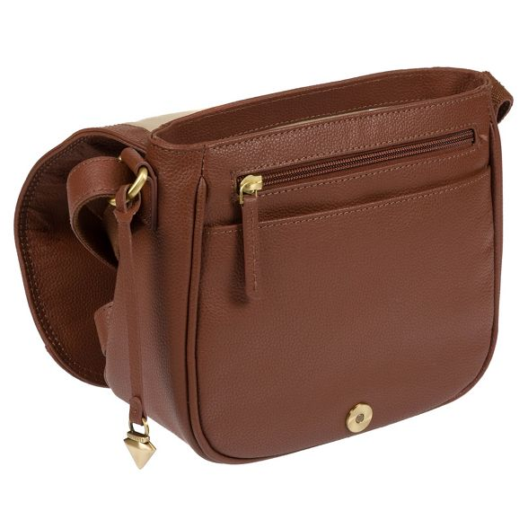 leather cross bag body Sienna brown London 'Pollencia' Cultured xgwqIX0W