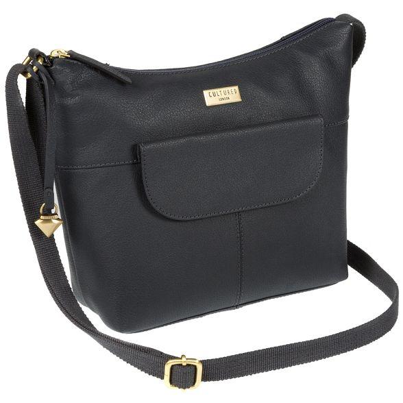 'Emma' Cultured Navy London leather bag hobo 0nfYYEwrxq