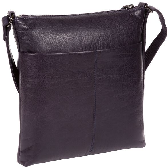 bag Navy body cross London Cultured leather 'Daar' wY5xg7za