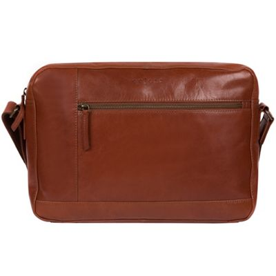 e932596ceeb0 Pure Luxuries London - Chestnut  Imola  Italian-inspired leather messenger  bag