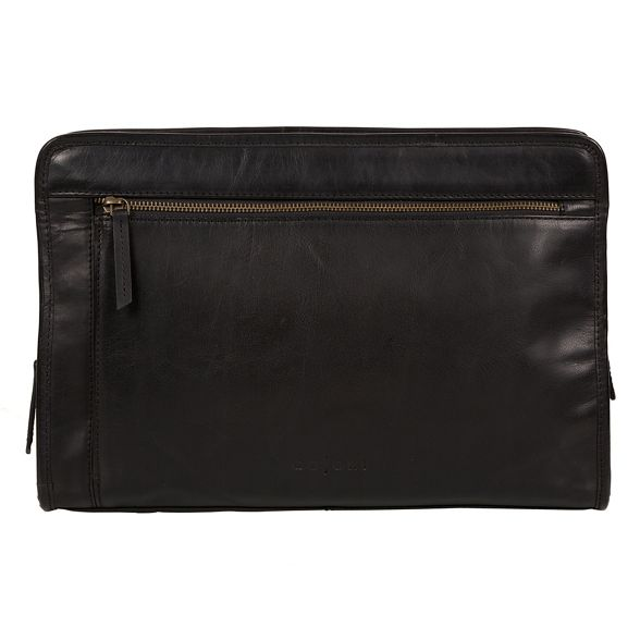 Italian case Pure 'Pirlo' Luxuries London inspired Black document leather waqPIq7T