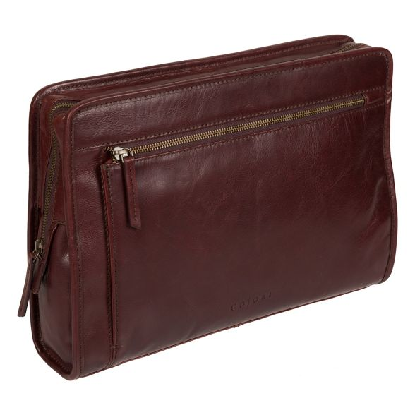 'Pirlo' Brown case leather Italian London inspired document Pure Luxuries wTWBqCtnTA