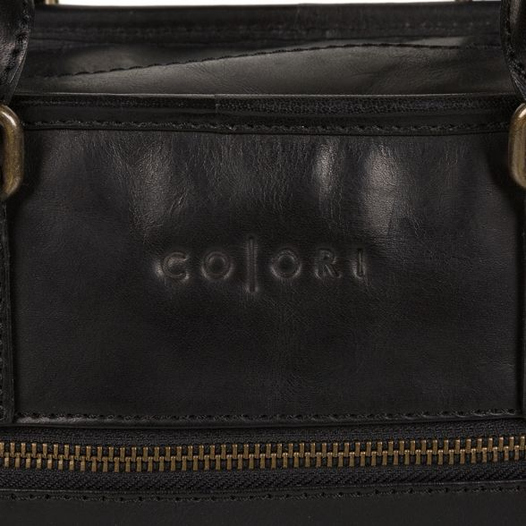 Pure work Black Luxuries London inspired Italian bag 'Travisso' 88rg6w