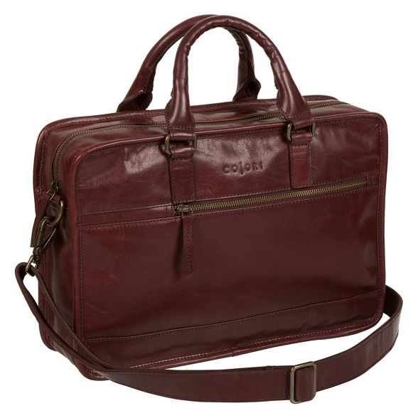 brown bag 'Travisso' Italian London Luxuries work Italian inspired Pure gqPBwB