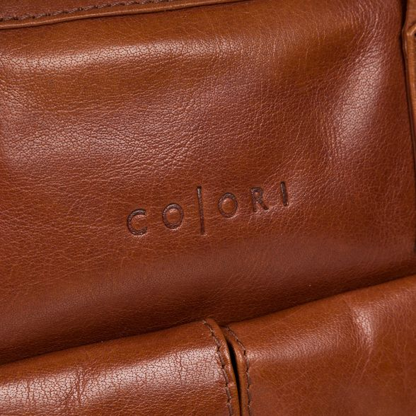 Chestnut Italian work 'Vasto' Pure Luxuries leather inspired bag London SxqCfvwE