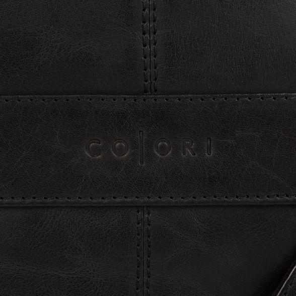 Luxuries Black London Pure leather bag despatch 'Zoff' inspired Italian dBRfaz