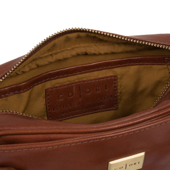 body 'Rivoli' Italian Luxuries Chestnut Pure cross bag Inspired London leather wI8Bqtdxq