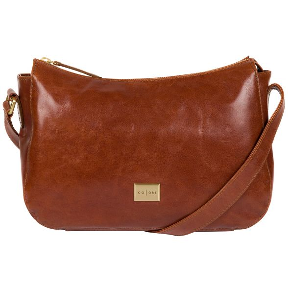 leather London Pure hobo Italian Chestnut Luxuries inspired bag 'Enna' vvBR1qH