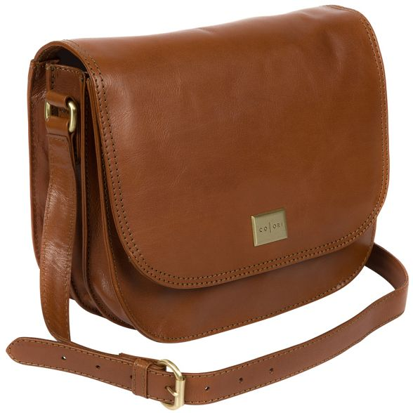 Italian Pure body cross 'Empoli' Luxuries tan bag London HCzExfCq