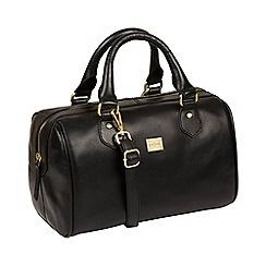 Pure Luxuries London - Black 'Arona' Italian-inspired leather handbag