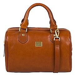 Pure Luxuries London - Italian tan 'Arona' Italian-inspired leather handbag