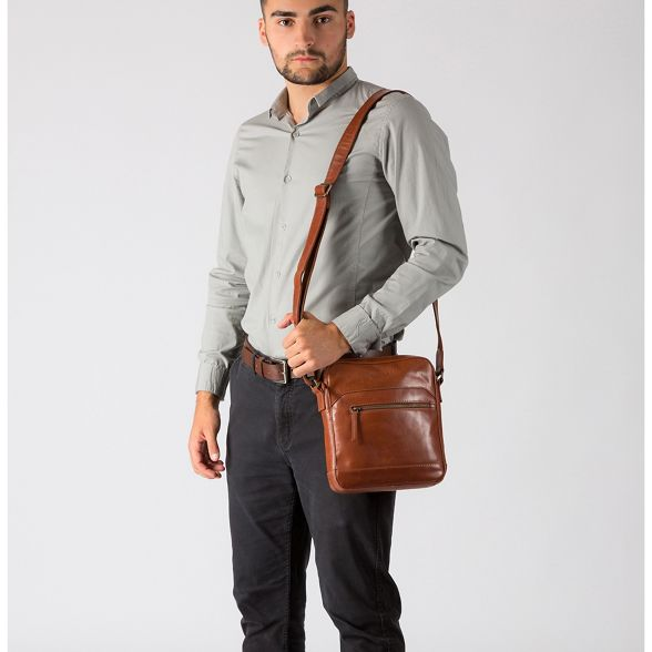 London 'Anzio' Chestnut bag dispatch Pure Luxuries italian leather inspired xfPcwFq