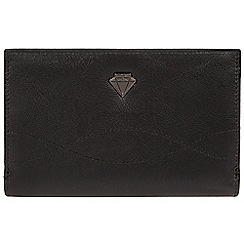 Cultured London - Black 'Stow' genuine leather purse