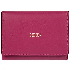 Cultured London - Orchid 'Norma' fine leather RFID purse