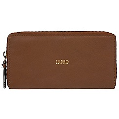 Cultured London - Tan 'Ariana' soft leather RFID purse