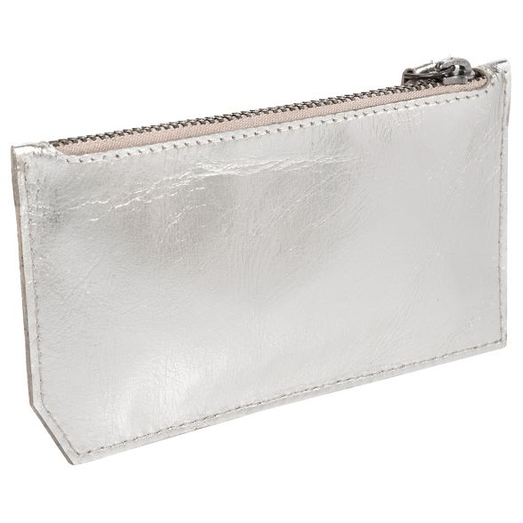 leather RFID 'Jo coin purse Jo' London Silver Cultured a6pq8p