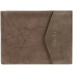 Cultured London - Vintage brown 'Doyle' leather bi-fold wallet
