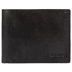 Cultured London - Black 'District' natural cowhide RFID wallet
