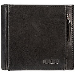 Cultured London - Black 'Cardinal' fine leather RFID wallet