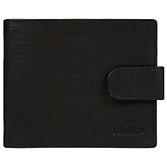 Cultured London - Black 'Bruno' leather RFID wallet