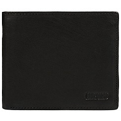 Cultured London - Black 'Ed' quality leather RFID wallet