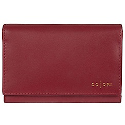 Pure Luxuries London - Red 'Capri' Italian-Inspired leather RFID purse