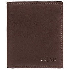 Pure Luxuries London - Brown 'Potenza' fine leather RFID card wallet