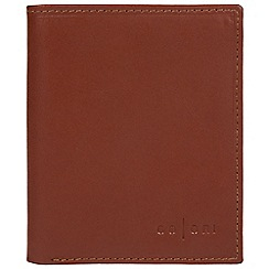 Pure Luxuries London - Cognac 'Potenza' fine leather RFID card wallet