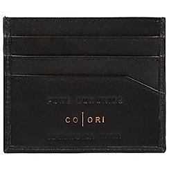 Pure Luxuries London - Black 'Trento' fine leather RFID card holder