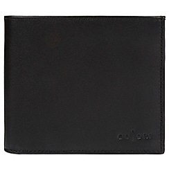 Pure Luxuries London - Black 'Bolzano' Italian-inspired fine leather RFID wallet