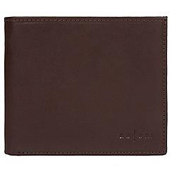 Pure Luxuries London - Brown 'Bolzano' Italian-inspired fine leather RFID wallet