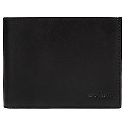 Pure Luxuries London - Black 'Bari' Italian-inspired fine leather RFID wallet