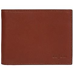 Pure Luxuries London - Cognac 'Bari' Italian-inspired fine leather RFID wallet