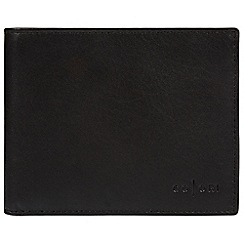 Pure Luxuries London - Black 'Forli' Italian-inspired fine leather RFID wallet