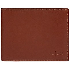 Pure Luxuries London - Cognac 'Forli' Italian-inspired fine leather RFID wallet